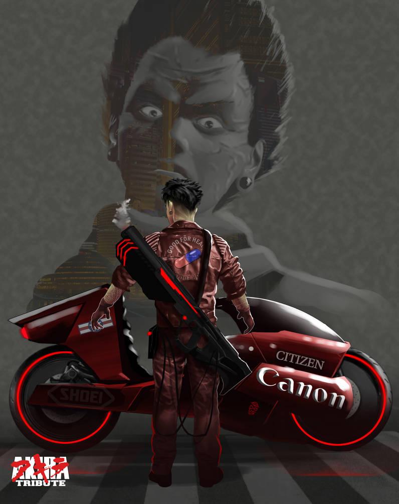 Kaneda - Akira Tribute by macroproject
