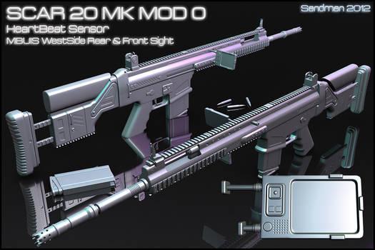 SCAR 20 MK MOD 0