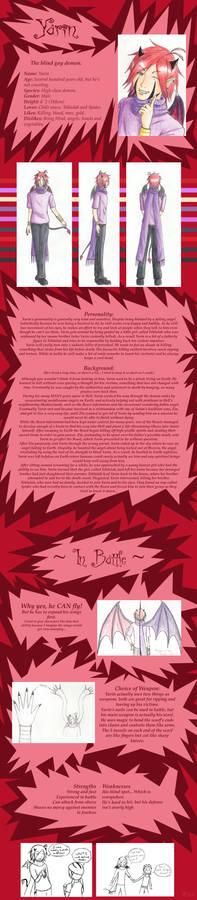 AatR:NC Yarin Reference Sheet