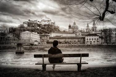 Enjoying Salzburg by Sercy