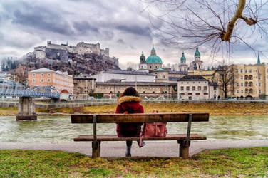 Enjoying Salzburg 2 by Sercy