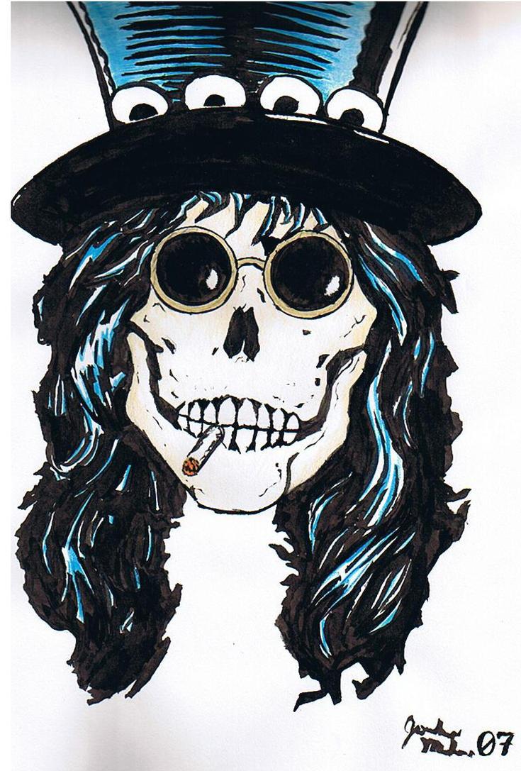 Slash skull by Wookieoftheyear on DeviantArt