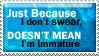 Swearing Stamp by waterwish