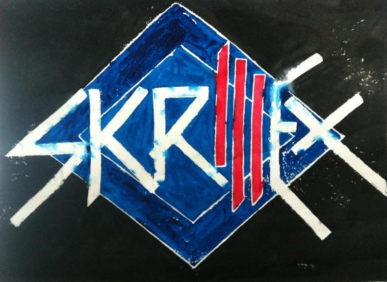 skrillex logo by caoeri