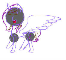 My Oc drawn in PixlrEditor by mlpfanmakerandnextge