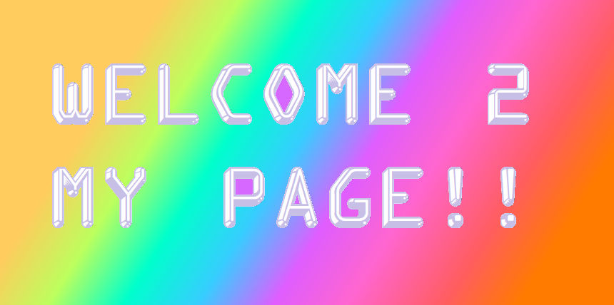 Welcome Thingy