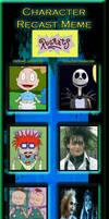My Rugrats Tim Burton Cast