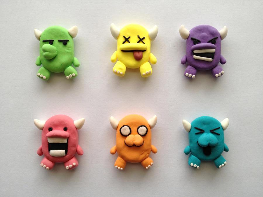 Mini devils fridge magnets by aryadedek on deviantart for Where to buy magnets for crafts