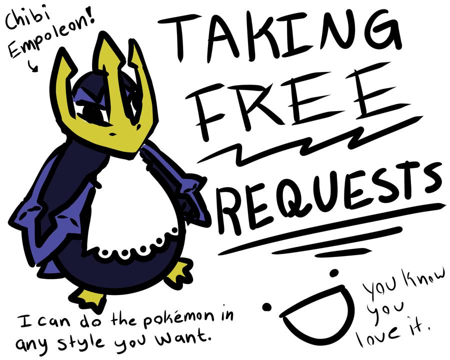 Chibi Empoleon! (Taking requests!) by luckyluna222