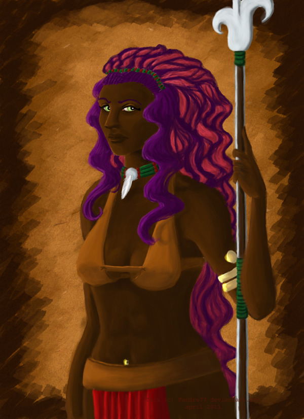 Queen of amazone by Fandre77