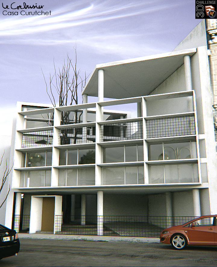 Le corbusier casa curutchet by lksinc on deviantart - Casas de le corbusier ...