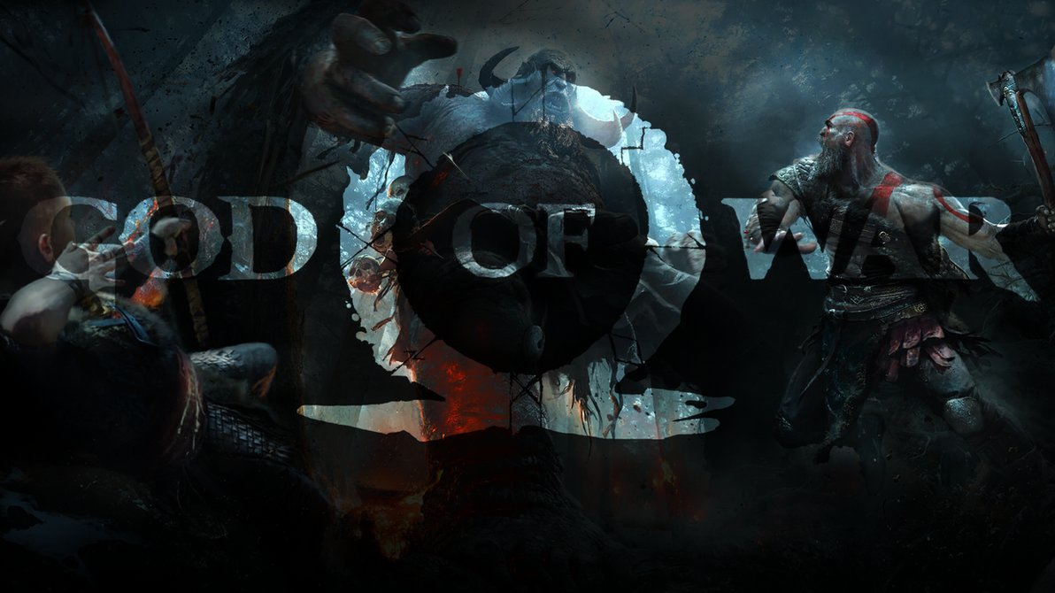 god of war ps4 wallpaper 1080pclaterz on deviantart