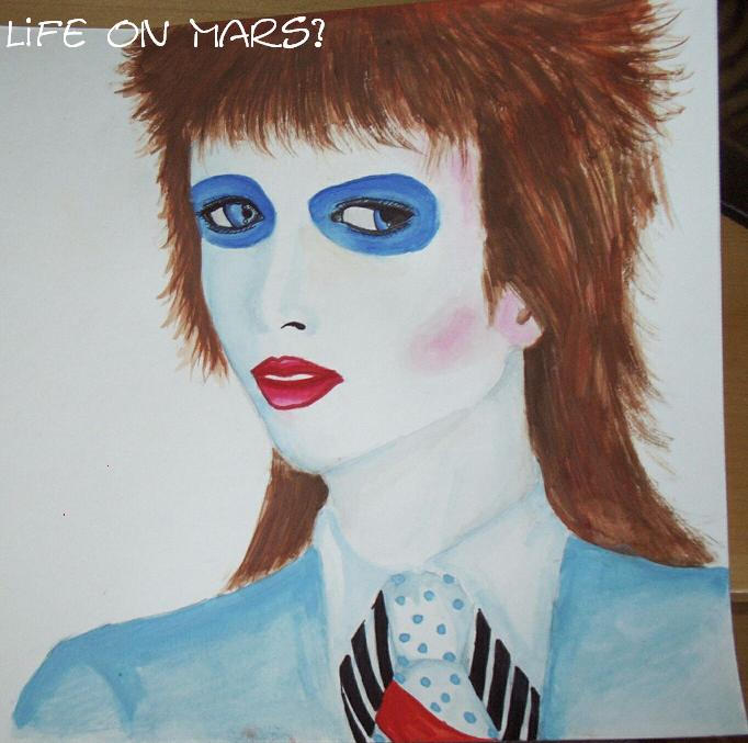 Life on Mars David Bowie? by Bowie8D on DeviantArt
