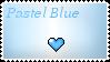 Pastel Love: Blue by CrazyLizardLady