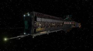 Attack Ship by L-a-z-l-o-w