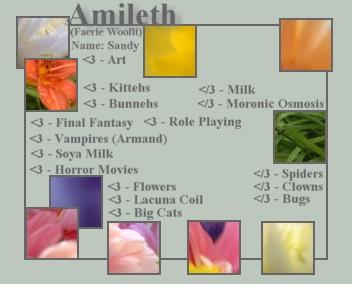 Amileth's Profile Picture