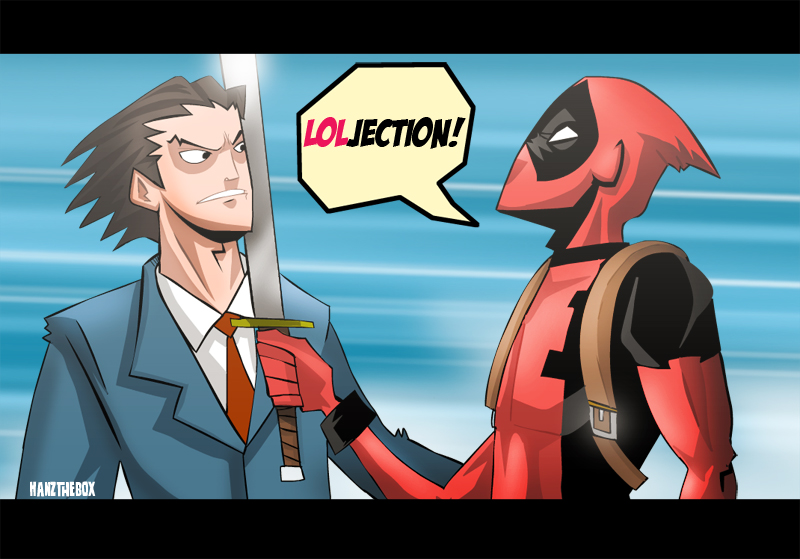 Deadpool Vs Phoenix Wright