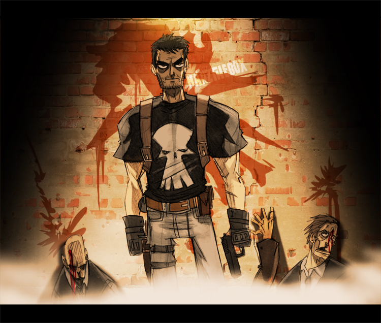 The Punisher by hanzthebox