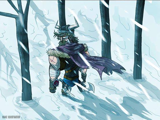 Warrior returning alive by hanzthebox