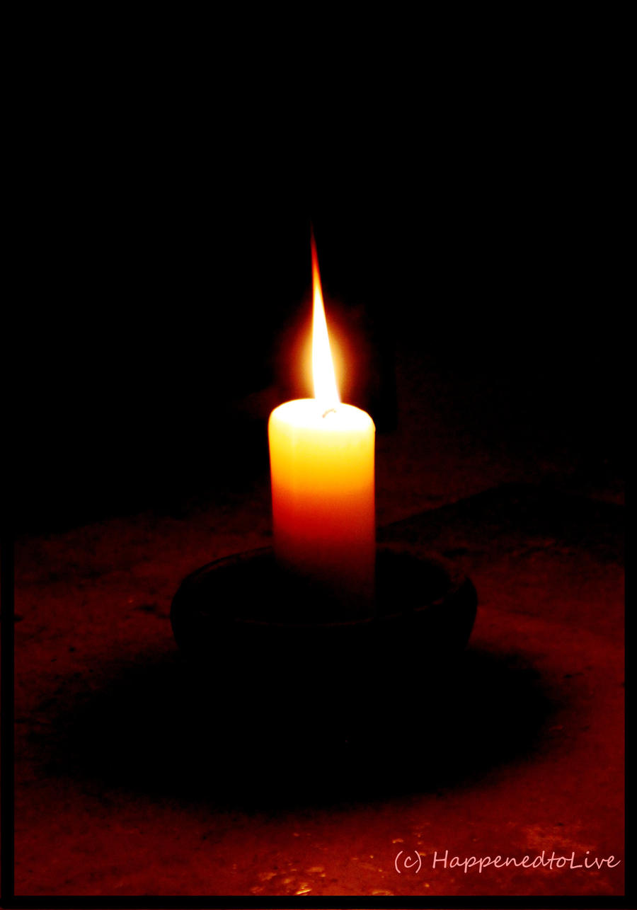 candle in the dark - photo #12