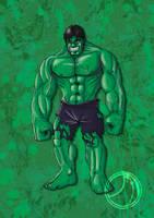 Hulk by ammerseearts