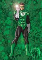 Green Lantern by ammerseearts