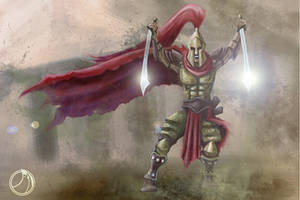 Sparta Gladiator by ammerseearts