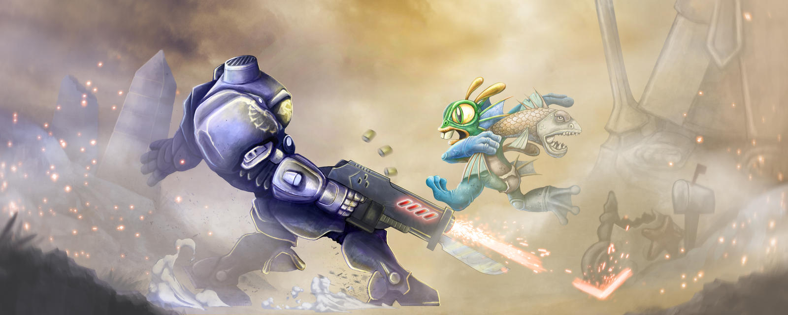 Blizzard Contest 2015 - Heroes of the Storm by ammerseearts