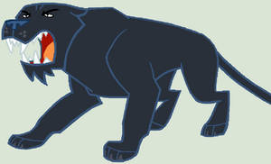Mlp Black Panther Vector