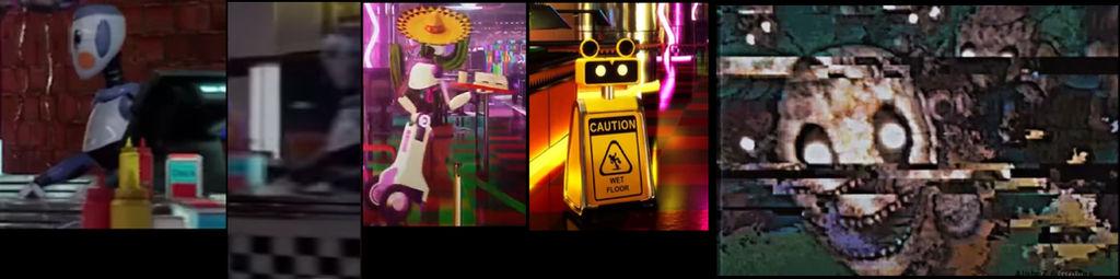 Fnaf Sb Staff Robots possessed?