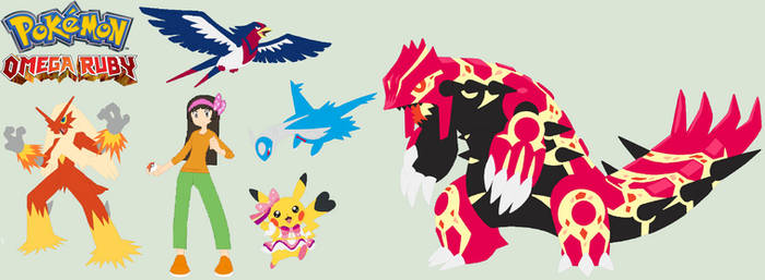 Trainer Me And My Omega Ruby Team remake