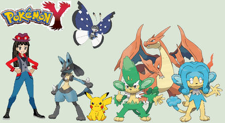 Trainer Me And My Pokemon Y Team Remake 35