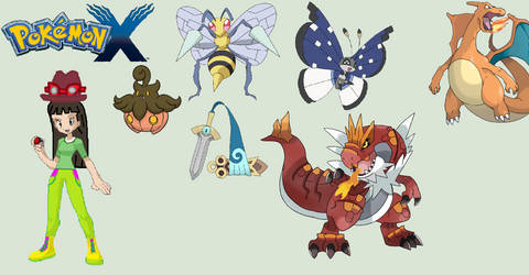 Trainer Me And My Pokemon X Team Remake 35
