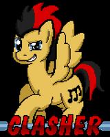Clasher by SilverBlazeBrony