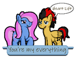 You're my everything - Clasher x Heart Lift