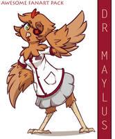 Dr Maylus - AWESOME FANART PACK by SilverBlazeBrony