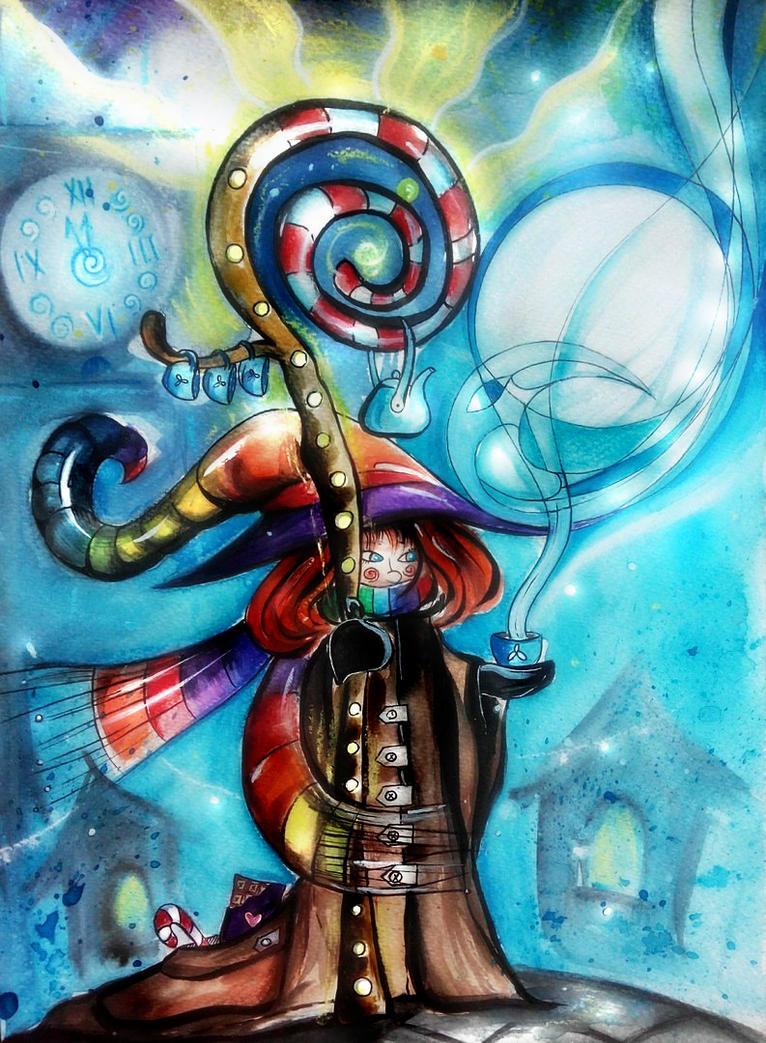New Year Magic by MorriganAlisa