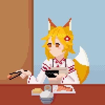 Helpful Fox Senko-San by BadLemonsXI
