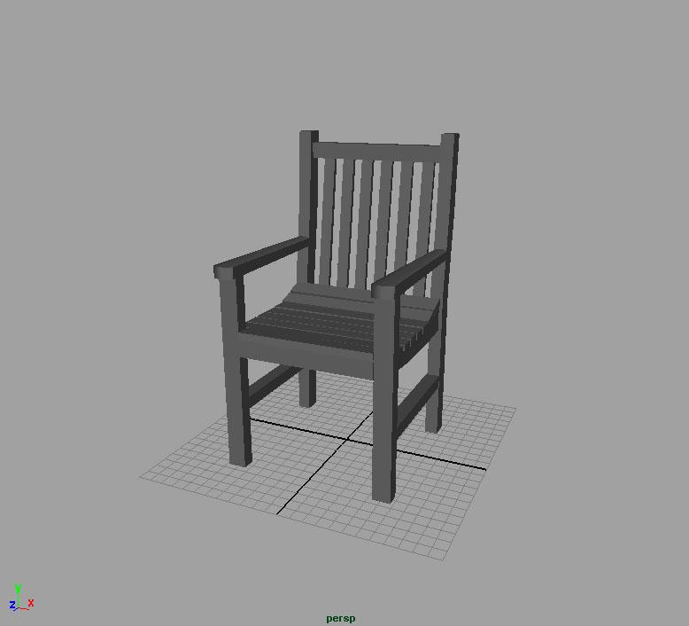 MAYA Chair by dark-idle-pixie