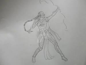 SF elf archer