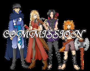 Commission: Komi-Tsuku