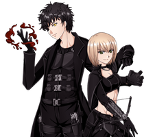 Erina and Farron