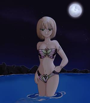 Erina at night