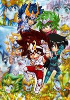 Saint Seiya Only Event Poster by MZ15