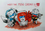 Meet the MINI CREWS
