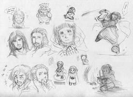 Dwarf doodle by MZ15