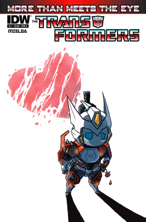 MTMTE 16 Alternate Cover by MZ15
