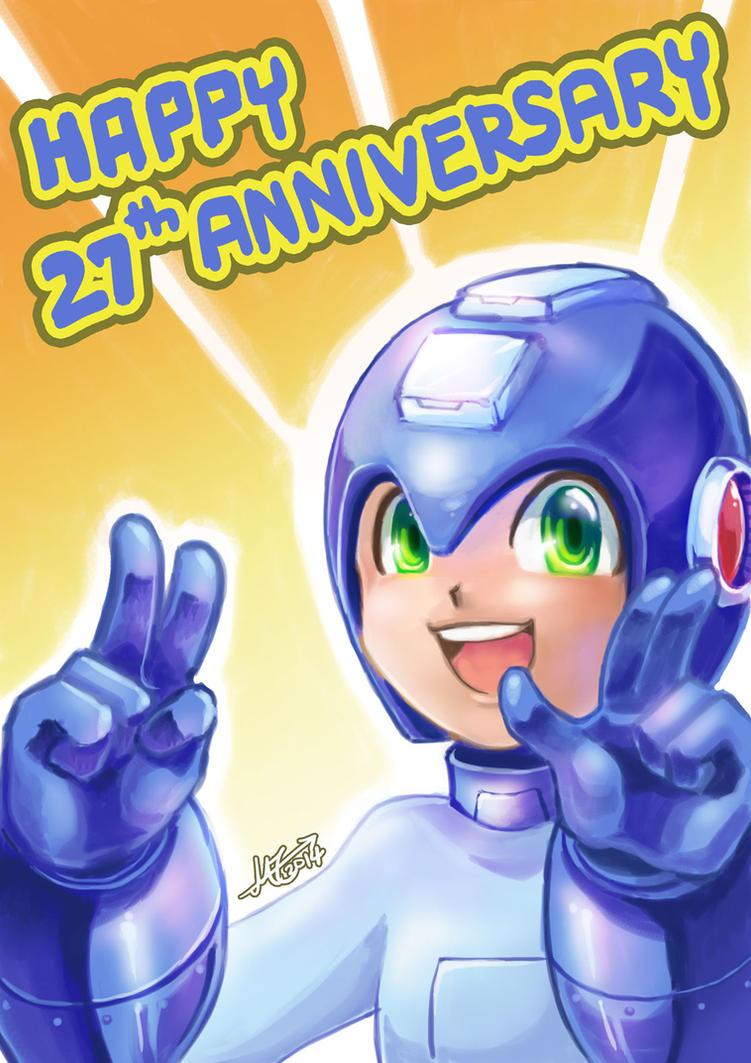 Happy 27th Anniversary by MZ15