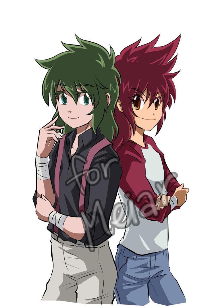 Shun and Kouga by MZ15