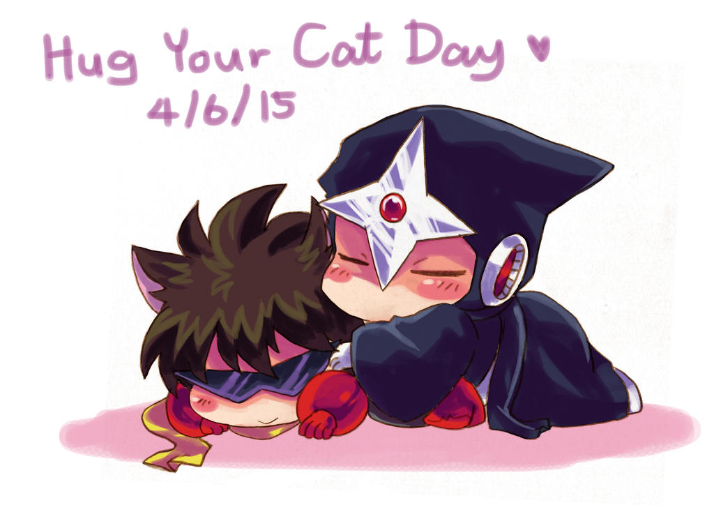Hug Your Cat Day 2 by MZ15